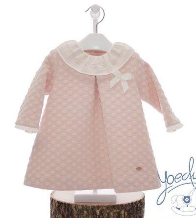 Vestido-bebé-piqué-rosa