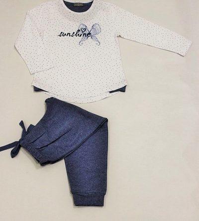 Pijama-niña-estrellas