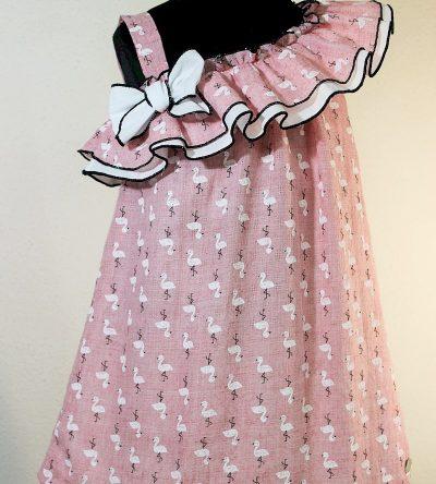 Vestido-volante-estampado-flamencos