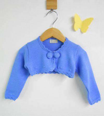 Chaqueta-bolero-punto-crochet-azulón