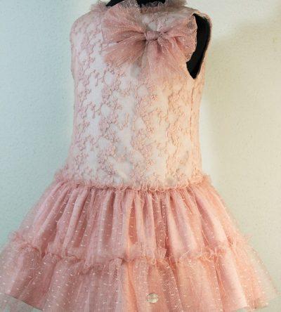Vestido-niña-ceremonia-rosa-empolvado