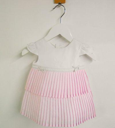 Vestido-bebé-tablas-rosa
