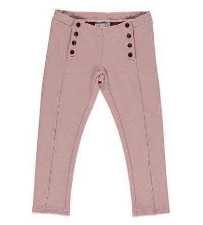 Legging-rosa-botones-dorados-Bimbalina