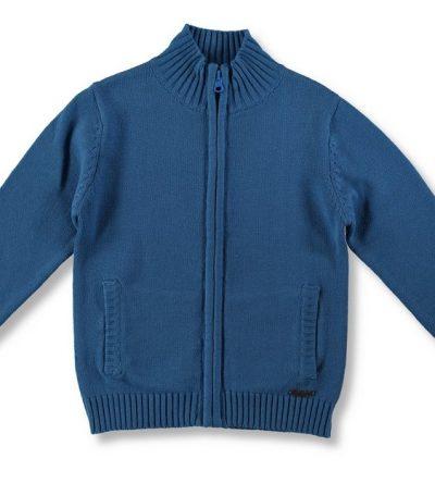Chaqueta-niño-algodón-cremallera
