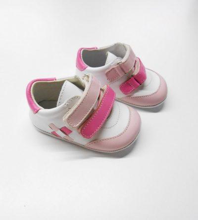 Zapatillas-rosa-piel-perfil
