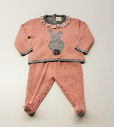 Conjunto-polaina-lana-rosa-empolvado-conejito-gris