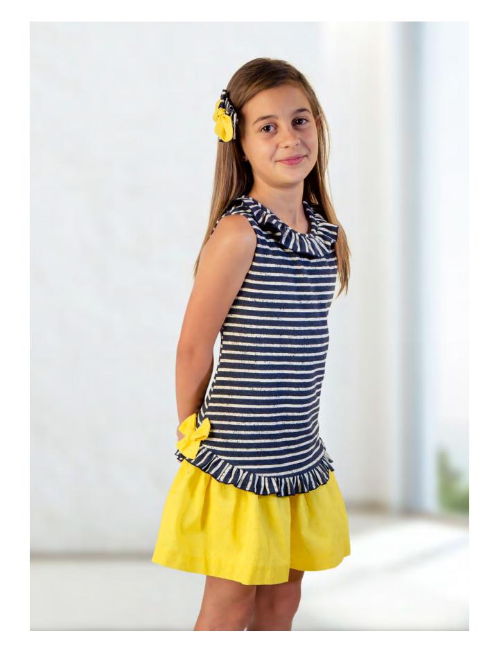 Vestido amarillo Basmarti