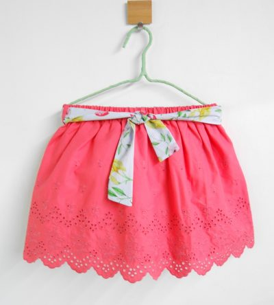 Falda-frambuesa-Anabel-Moda-Infantil