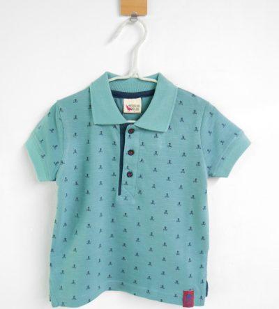Polo-calaveras-verde-Anabel-Moda-Infantil
