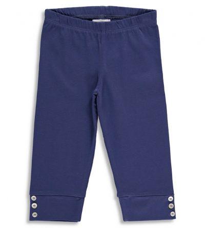 Legging-corto-niña-botones-azul