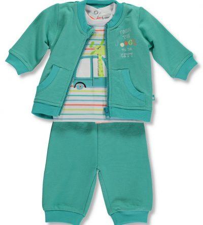 Conjunto bebé niño verde Anabel moda infantil