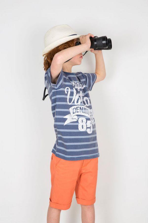 Camiseta Pirata Niño De Wooloomooloo Anabel Moda Infantil