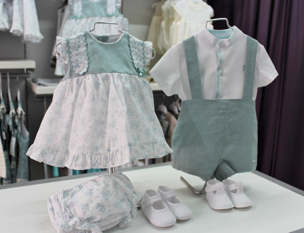 Familia Altamira Verde Empolvado Bebé Anabel Moda Infantil (Copiar)