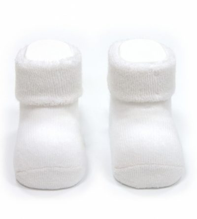 calcetines-bebé-liso-blanco-Cambrass
